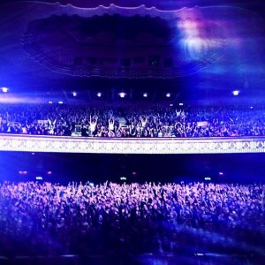 Paloma's Own Snap of the Apollo - taken from the stage