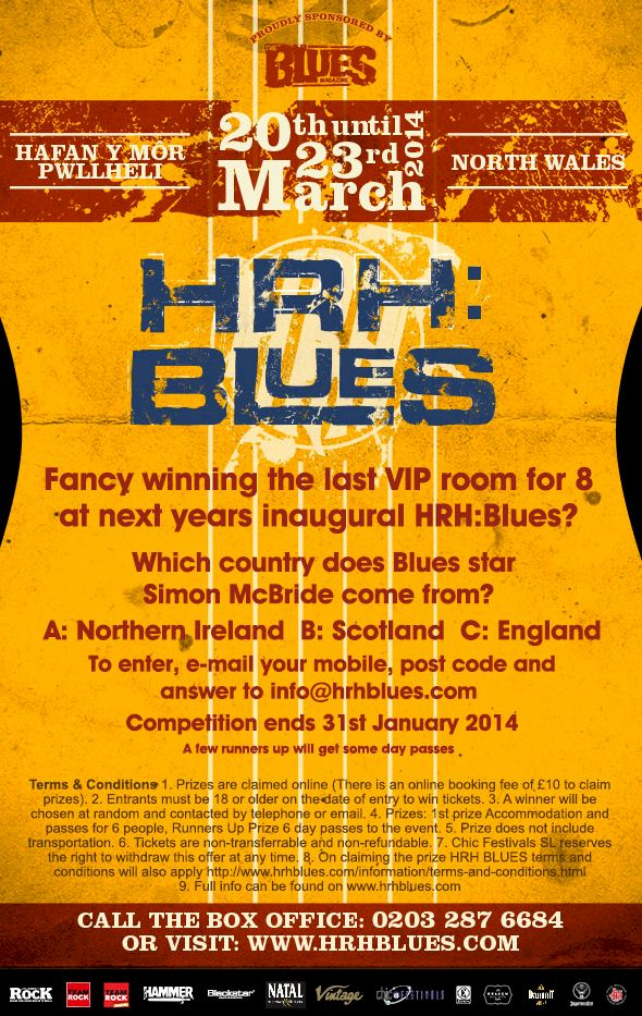 HRH BLUES 2014 comp