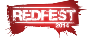 redfest 2014 sticker