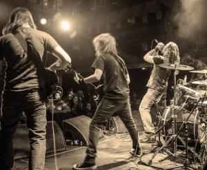 BlackWolf draw their sound from a multitude of sources, ranging from Led Zeppelin and early Guns N' Roses through to Black Stone Cherry and even Avenged Sevenfold...