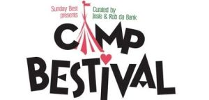 Camp Bestival - Different audience than normal with kids crawling across the ground...