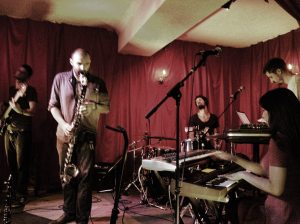Kinkajous - a vivid mosaic of Afro-Asian wuzzy tabering and clarinet oozing...