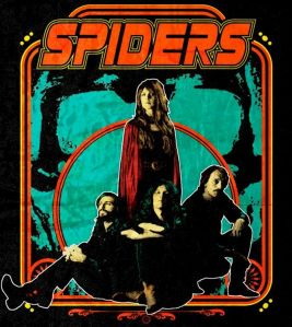 Spiders - Less brutal than Steppenwolf - more psychedelic than Slade...