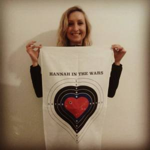 Hannah in the Wars - An eloquent composition with many twists and shaded corers...