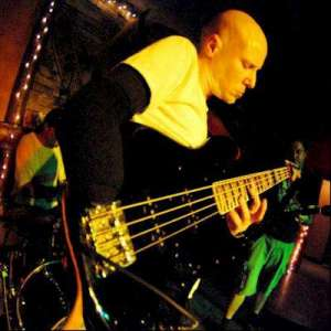 Bass guitarist Bill Clements