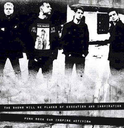 Anti Flag punk rock can inspire activism