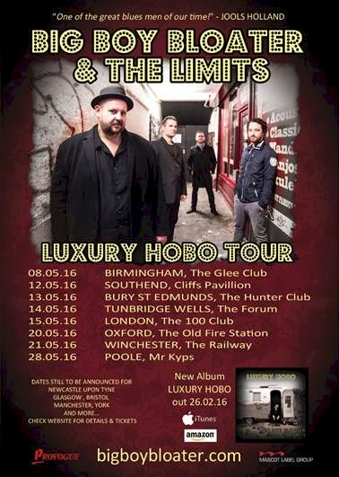 BIG BOY BLOATER & The LiMiTs announce 'Luxury Hobo' May Tour