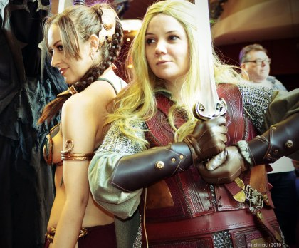 The Sci Fi and Fantasy worlds had gathered to celebrate the Seventh Sci-fi Weekender...