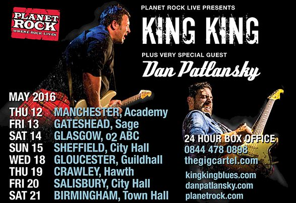KING KING UK Tour Dates