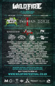 Scotland's Rock and Metal Festival. 24-26 June 2016