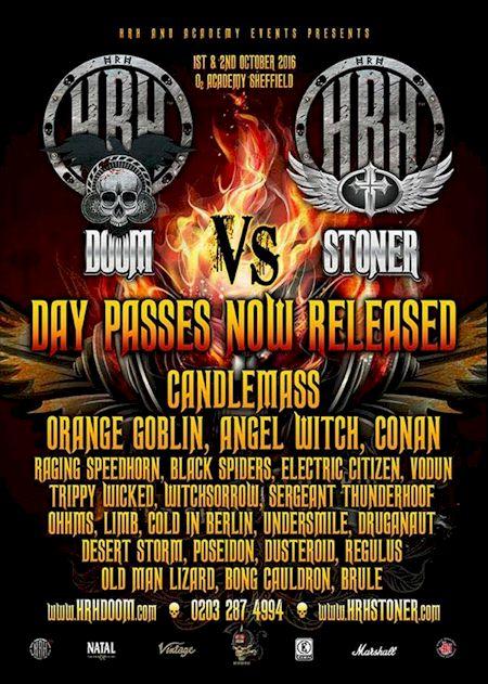 Vodun  - HRH Stoner Vs Doom, Sheffield, UK