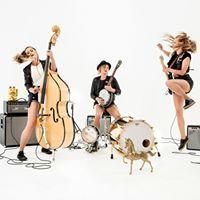 Baskery - the fab banjopunk trio of Greta, Stella & Sunniva Bondesson
