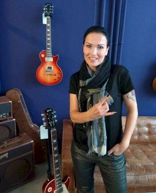 Tarja In the Raw Interview, photo @neilmach 2019 ©