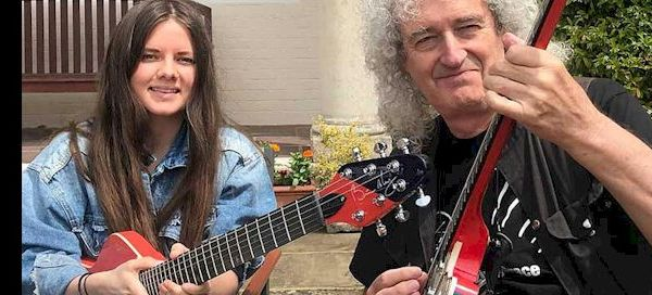 ARIELLE with Brian May