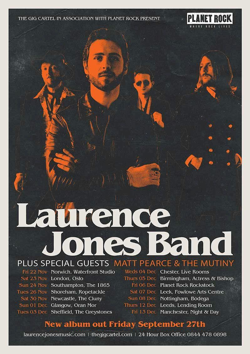 Laurence Jones Tour Poster 2019