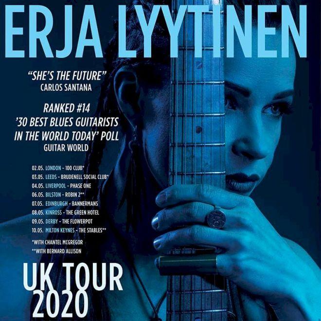Erja Lyytinen 2020 tour poster