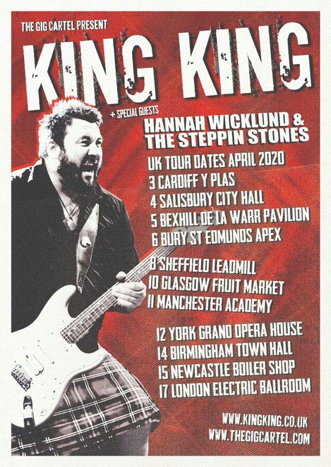 KING KING Tour 2020 Poster