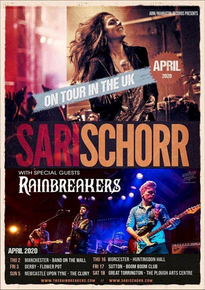 Sari Schorr + Rainbreakers