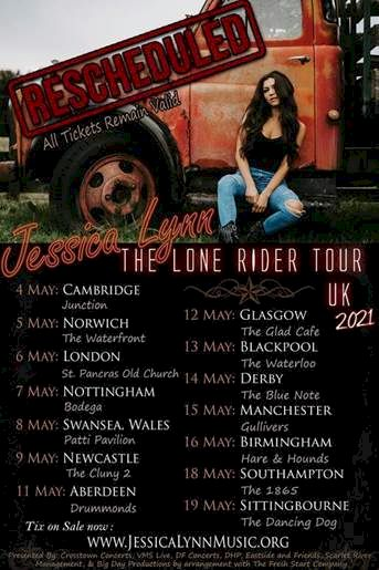 Lone Rider Tour dates