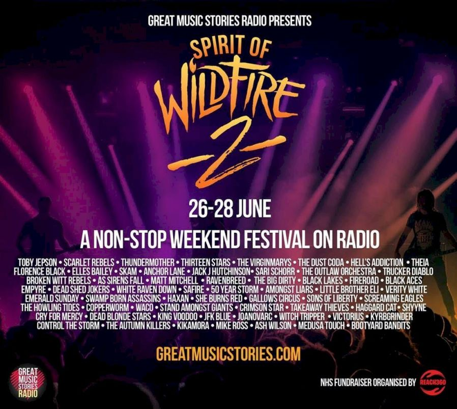 Spirit of Wildfire 2 Festival poster