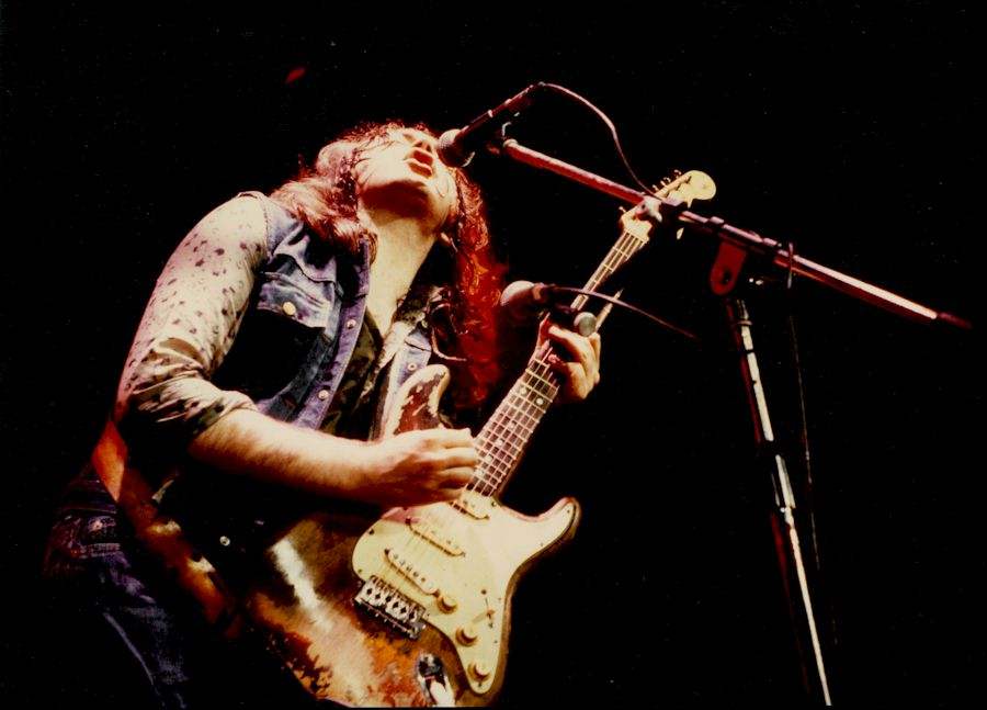 Rory Gallagher - 1980 Photo Credit © Strange Music Ltd