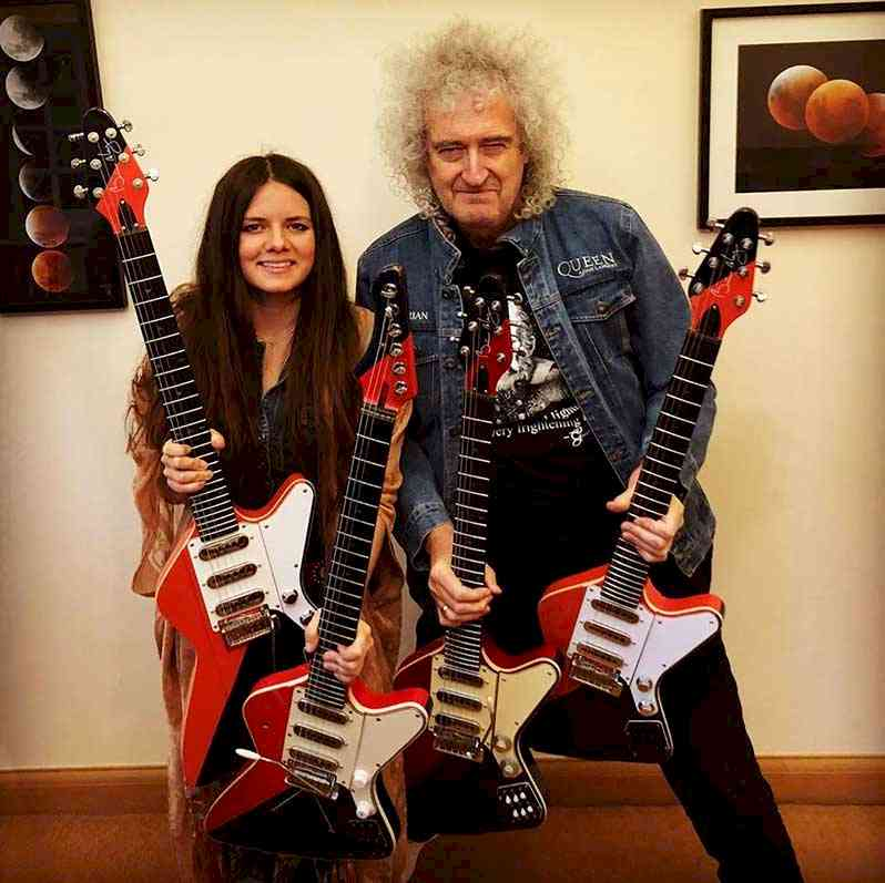 Arielle and Brian May
