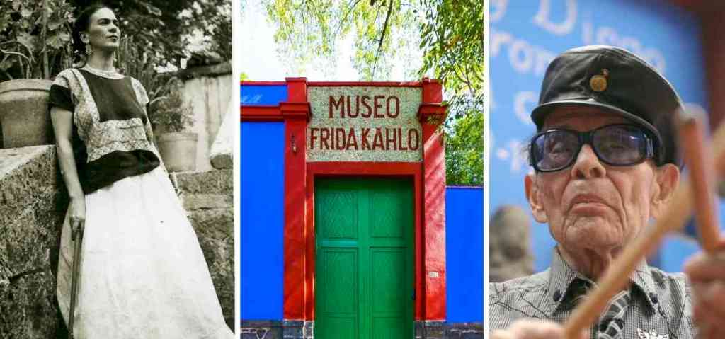 TINO CONTRERAS at the Frida Kahlo Museum: image credit: Diego Rivera and Frida Kahlo Archive, Banco de México, Trustee in the Trust relating to the Diego Rivera and Frida Kahlo Museums