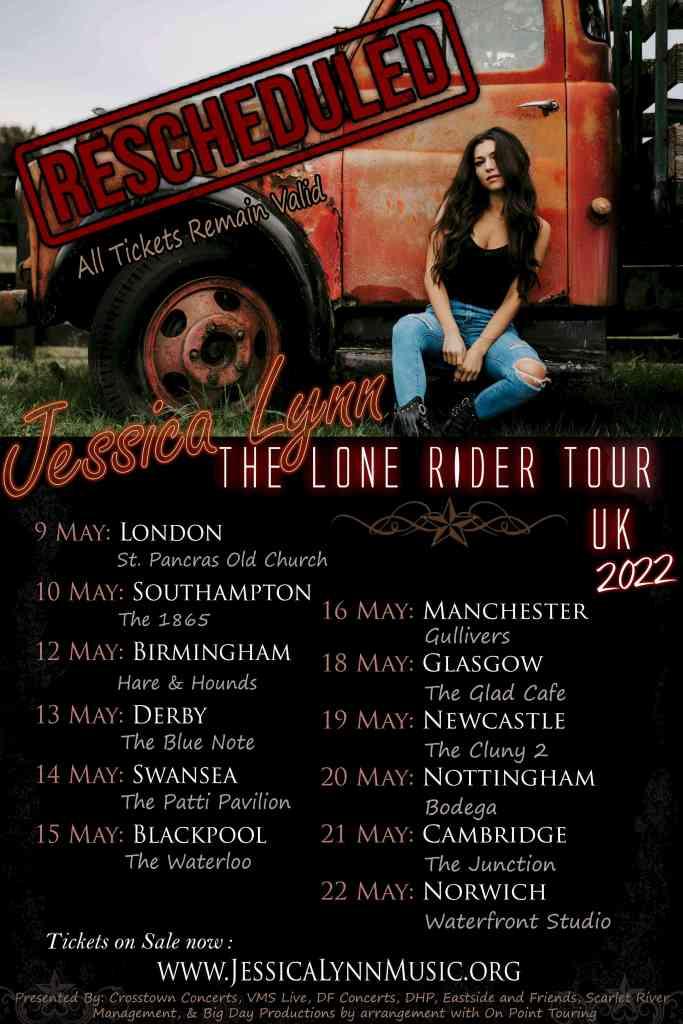 Jessica Lynn Tour Poster 2022