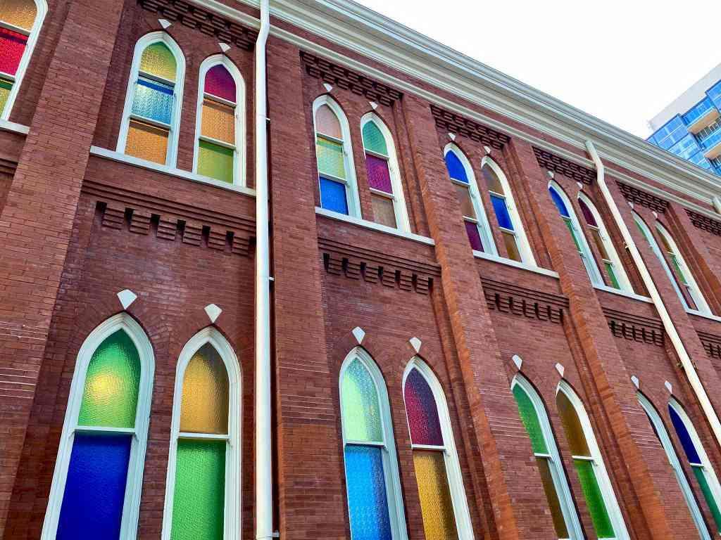 Auditorium windows