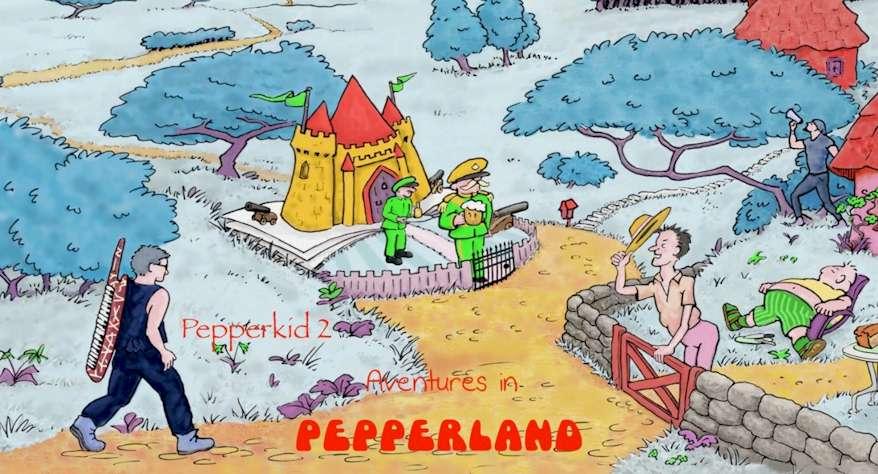 adventures in pepperland