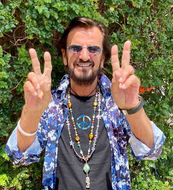 Ringo Starr Peace and Love
