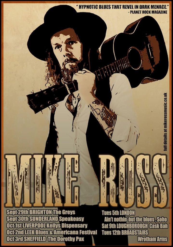 Mike Ross Tour Poster
