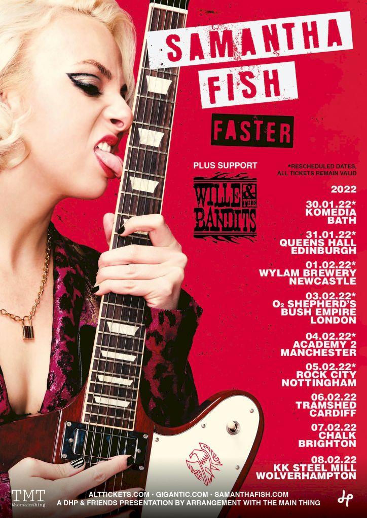 Samantha Fish Tour Poster