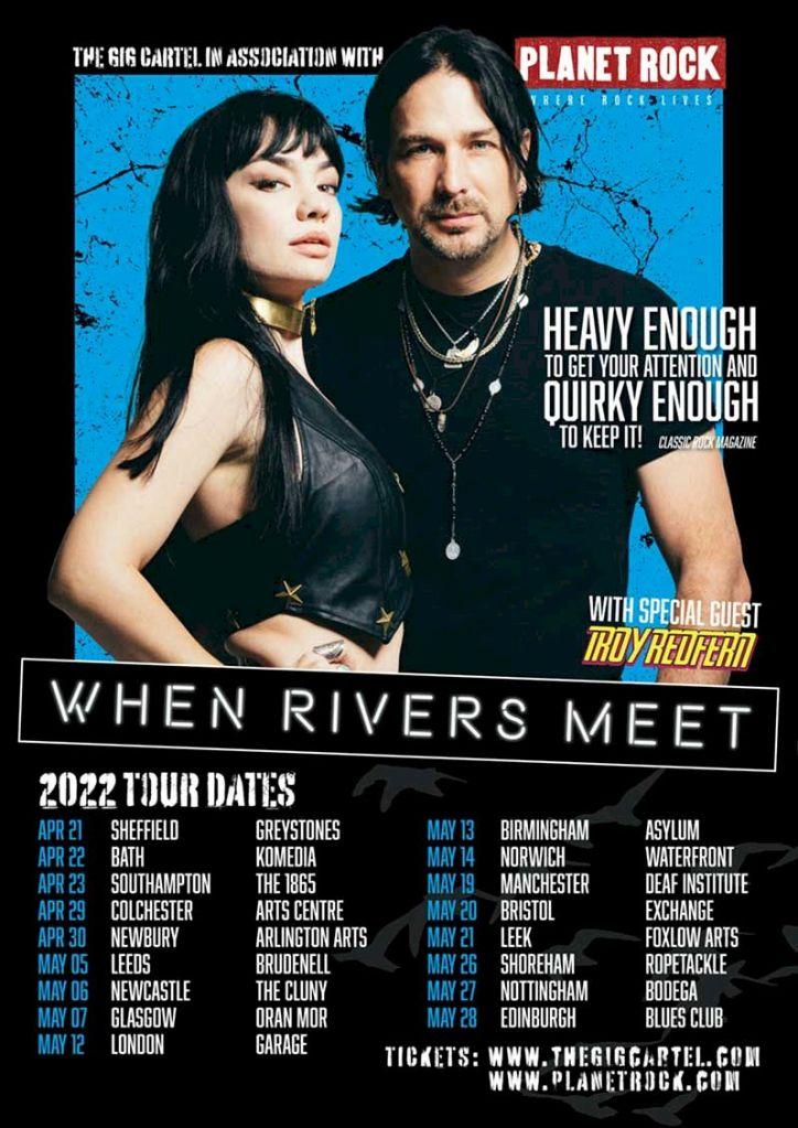 When Rivers Meet Tour Poster