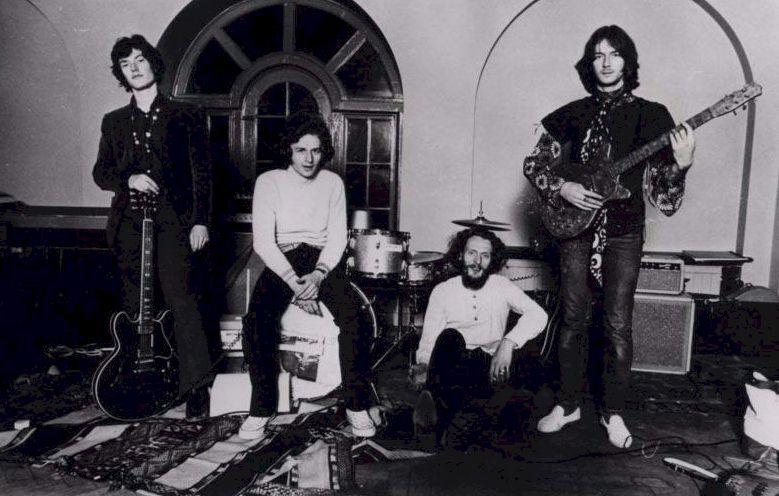 Blind Faith L to R- Steve Winwood, Ric Grech, Ginger Baker, Eric Clapton