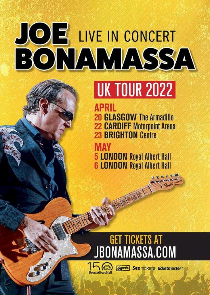 Bonamassa Tour Poster