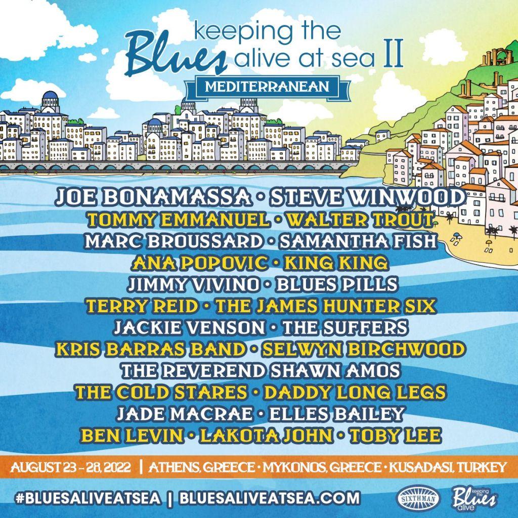 Blues at Sea poster