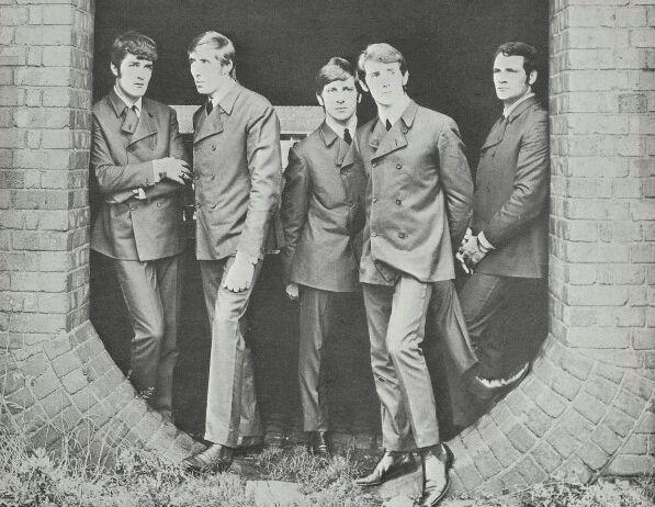 Moody Blues first incarnation Belinda sheet music cover